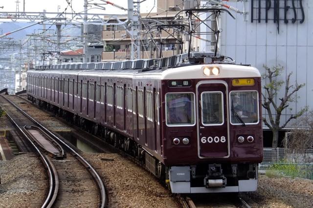 阪急6000系 鉄道写真図鑑